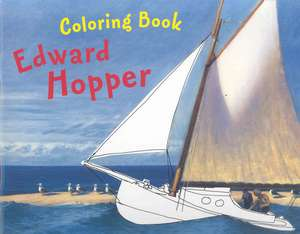 Edward Hopper Coloring Book