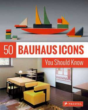 50 Bauhaus Icons You Should Know de Straber, Josef