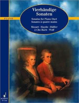 Vierhändige Sonaten de Walter Frickert