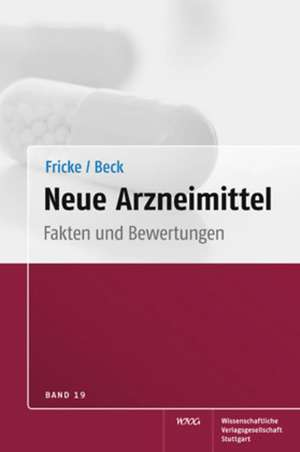 Neue Arzneimittel, Band 19