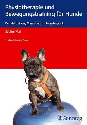 Physiotherapie und Bewegungstraining fuer Hunde