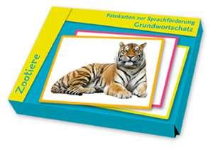 Fotokarten zur Sprachfoerderung: Grundwortschatz: Zootiere