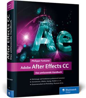 Adobe After Effects CC de Philippe Fontaine