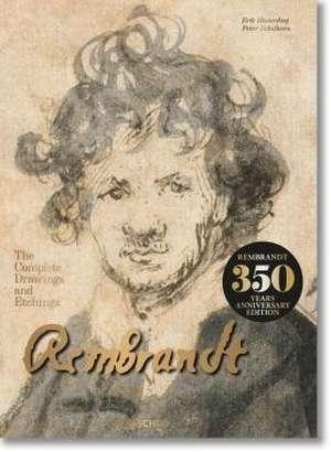 Rembrandt. Complete Drawings and Etchings de Erik Hinterding