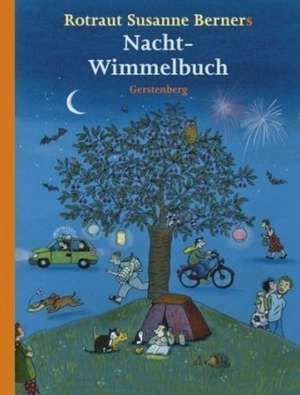 Hoinar printre anotimpuri, 26 x 34 cm, Nacht-Wimmelbuch