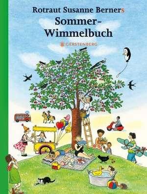 Hoinar prin anotimpuri Vara Midi 13 x 17 cm : Sommer-Wimmelbuch de Rotraut Susanne Berner