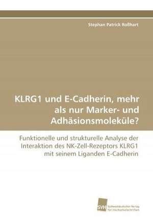 KLRG1 und E-Cadherin, mehr als nur Marker- und Adhaesionsmolekuele?