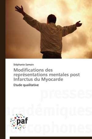 Modifications des representations mentales post Infarctus du Myocarde