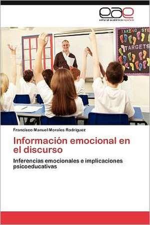 Informacion Emocional En El Discurso:  Victimas y Martires En La Serie de Torquemada de Francisco Manuel Morales Rodríguez