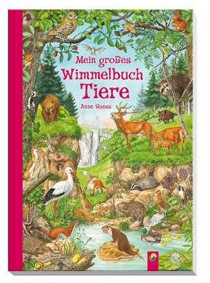 Mein großes Wimmelbuch Tiere de Anne Suess