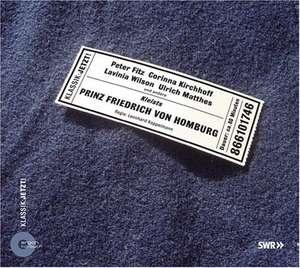 Prinz Friedrich von Homburg. CD