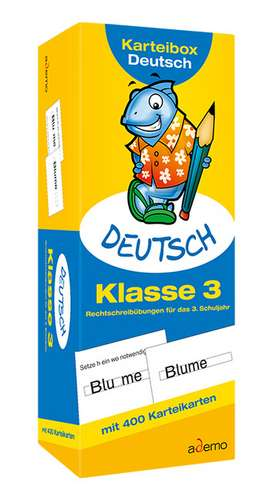 Karteibox Deutsch Klasse 3
