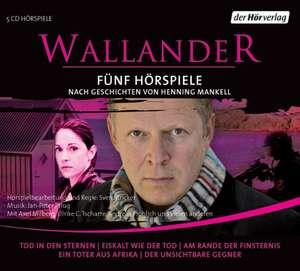 Wallander. Fuenf Hoerspiele. 1. Staffel