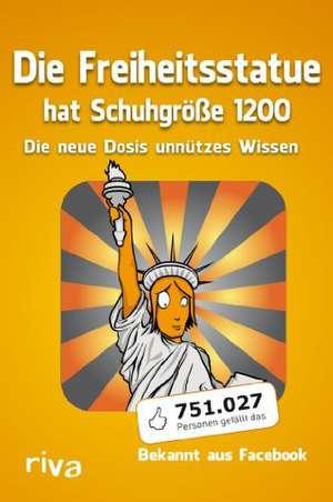 Die Freiheitsstatue hat Schuhgroesse 1200
