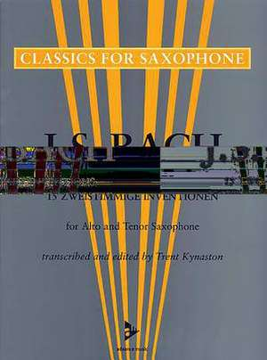 15 Two-Part Inventions de Johann Sebastian Bach