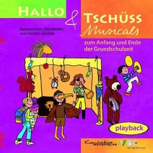 Hallo & Tschuess Musicals. Playback-CD