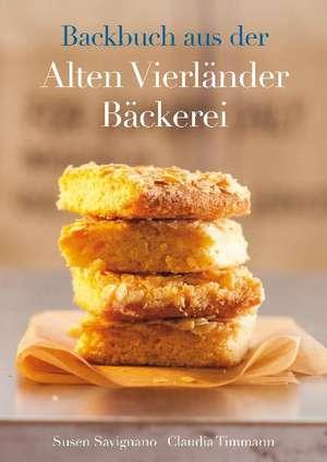 Backbuch aus der Alten Vierländer Bäckerei de Susen Savignano