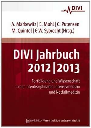 DIVI Jahrbuch 2012/2013