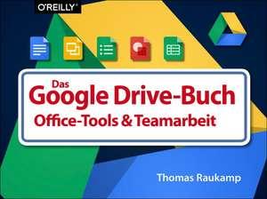Das  Google Drive-Buch de Thomas Raukamp