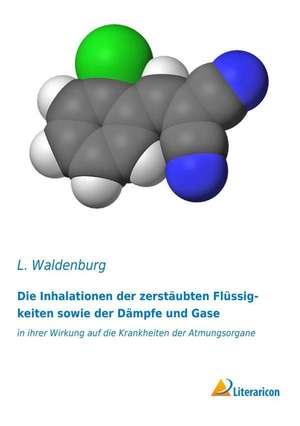Die Inhalationen der zerstaeubten Fluessigkeiten sowie der Daempfe und Gase