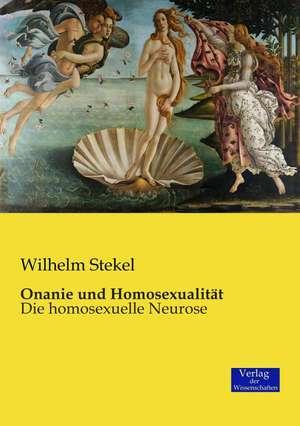 Onanie und Homosexualitaet