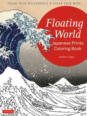 Floating World Japanese Prints Coloring Book