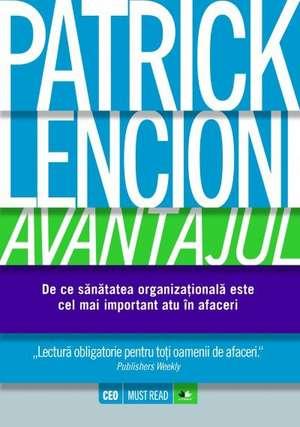 Avantajul de Patrick Lencioni