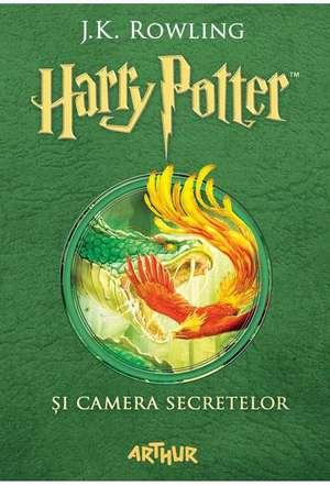 Harry Potter și camera secretelor de J. K. Rowling