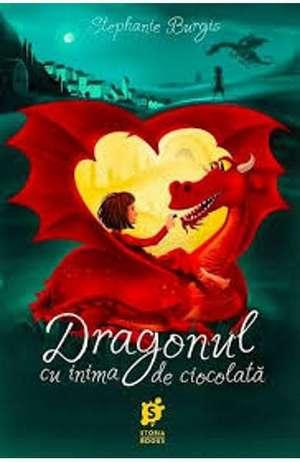 Dragonul cu inima de ciocolată de Stephanie Burgis