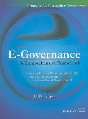 E-Governance de D N Gupta