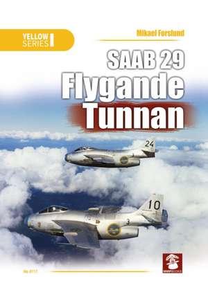 SAAB 29 Flygande Tunnan de Mikael Forslund