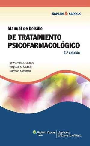Manual de bolsillo de tratamiento psicofarmacológico