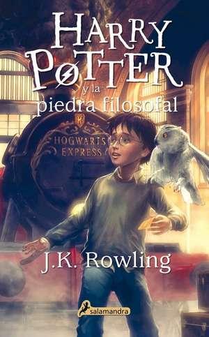 Harry Potter y La Piedra Filosofal de J. K. Rowling