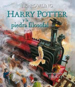 Harry Potter y La Piedra Filosofal (Ilustrado) de J. K. Rowling