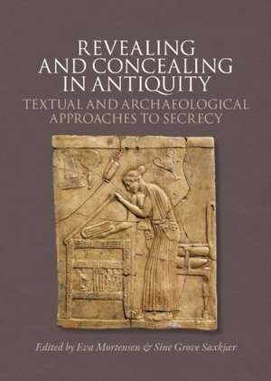 Revealing & Concealing in Antiquity imagine