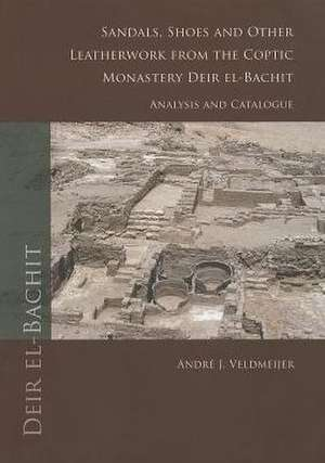 Sandals, Shoes and Other Leatherwork from the Coptic Monastery Deir El-Bachit:  Analysis and Catalogue de Andre J. Veldmeijer