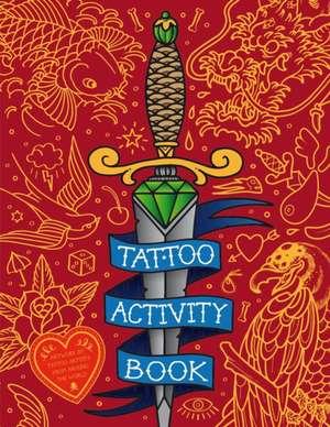 Tattoo Activity Book imagine