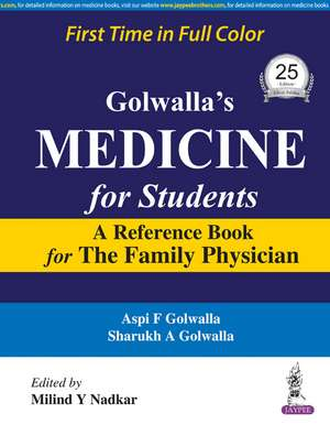 Golwalla's Medicine for Students
