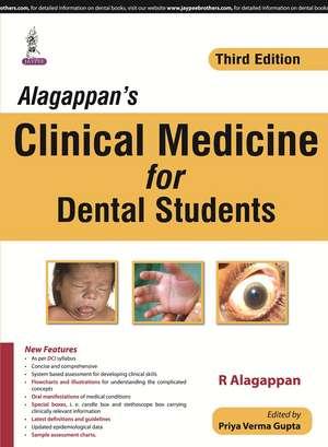 Alagappan's Clinical Medicine for Dental Students