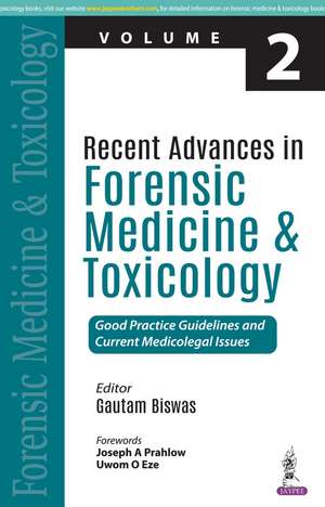 Recent Advances in Forensic Medicine and Toxicology - 2