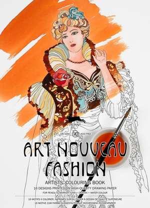 Art Nouveau Fashion de Pepin van Roojen
