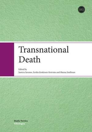 Transnational Death de Samira Saramo