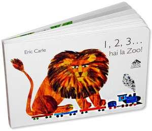 1, 2, 3... hai la Zoo! de Eric Carle