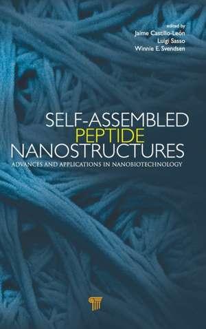 Self-Assembled Peptide Nanostructures