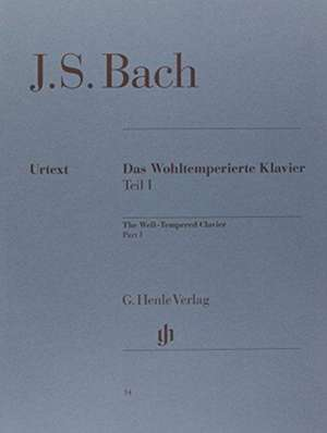 Das Wohltemperierte Klavier Teil I BWV 846-869 de Johann Sebastian Bach