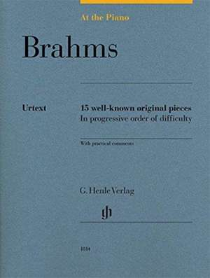 At the Piano - Brahms de Johannes Brahms