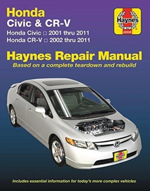 haynes repair manual honda civic