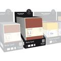 Moleskine Note Cards Assortment - Large: 48 pcs: 8 Red, 8 Navy Blue, 8 Maize, 8 Kraft, 8 Light Grey, & Terracotta