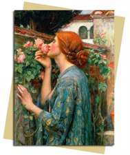The Soul of the Rose (Waterhouse) Greeting Card: Pack of 6