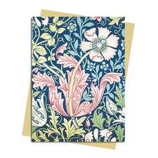 William Morris: Compton Wallpaper Greeting Card: Pack of 6